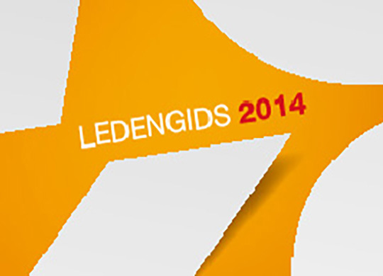 Voka ledengids 2014Data Merge Adobe Indesign