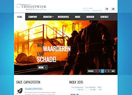 TREX Website (nieuwe layout)