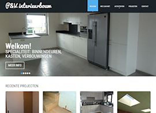 PV Interieur Modernizeren  website