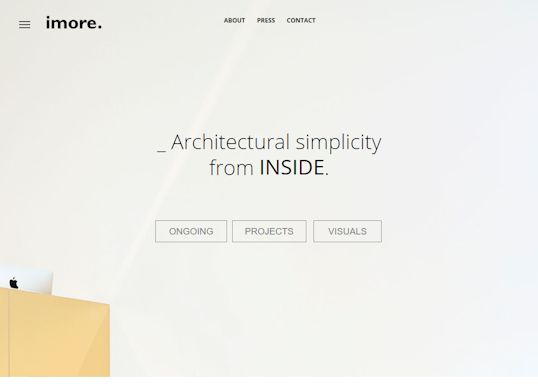 imore Aanmaak website