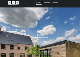 VdS Architect bvba Aanmaak website