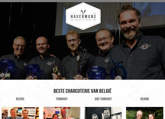 Havermans Aanmaak website