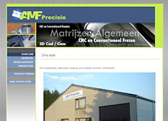 AMF Precisie Website
